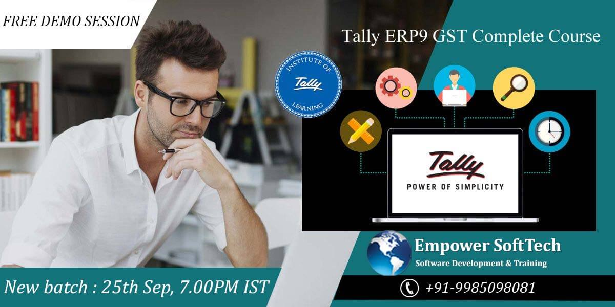Best online tally training with great benifits