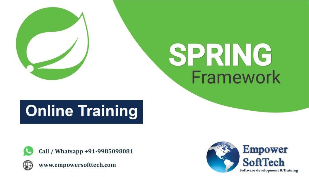 best-Java-spring-framework-online-training