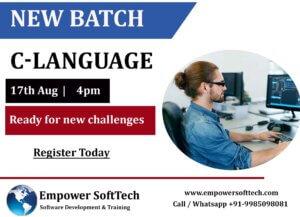 Best C Language Training in Uppal,  Hyderabad